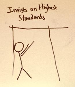 insistsOnHighestStandards
